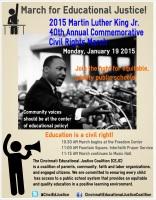 MLK March Flyer