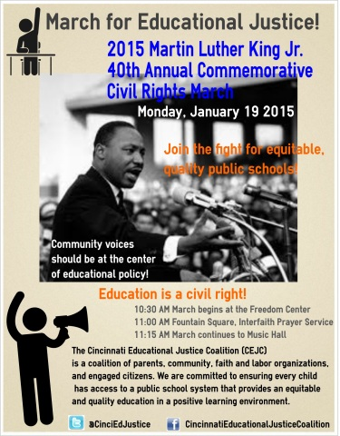 MLK March Flyer