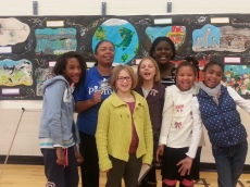 Year of the Child Mural, North Avondale Elementary, Cincinnati OH